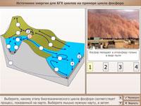 Источники энергии биогеохимических циклов на примере цикла фосфора