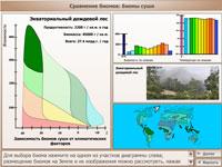 Сравнение биомов биомы суши