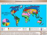Размещение биомов на Земле